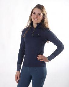 Instant heating shirt Loua Navy 44