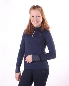 Instant heating shirt Loua Junior Navy 176