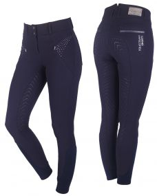 Breeches Lott anti-slip full seat Navy 48