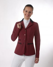 Competition jacket Juliet Burgundy 44