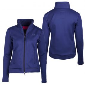 Sweat jacket Leslie Blue 44