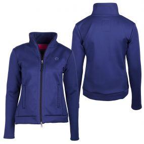 Sweat jacket Leslie Blue 44