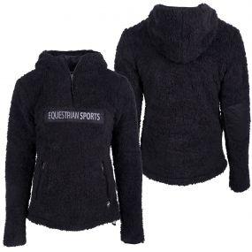 Teddy hoodie Ilva Zwart 44