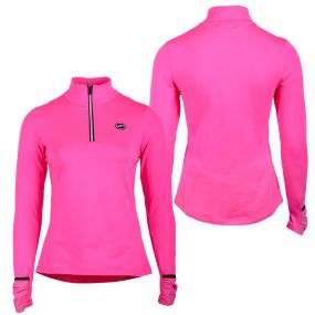 Instant heating shirt Bodil Neon pink 40