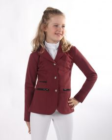 Competition jacket Juliet Junior Burgundy 176