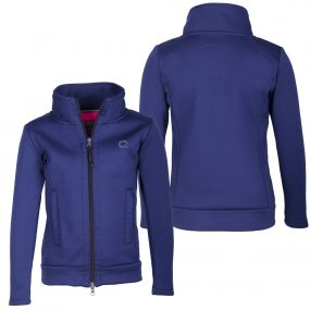 Sweat jacket Leslie Junior Blue 176