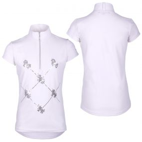Competitionshirt Lana Junior White 152