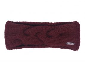 Headband Myrthe Burgundy