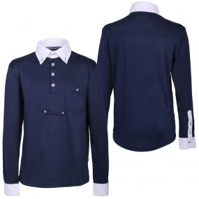 Competitionshirt Roald Junior Navy 164