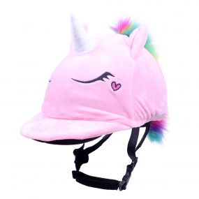 Helmet cover Unicorn Pink