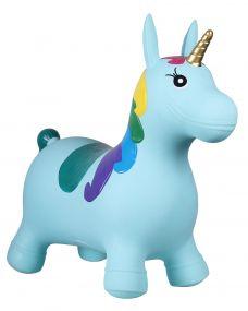Jumpy unicorn Light blue