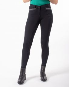 Breeches Zofia anti-slip full seat Black 44