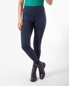 Breeches pull-on Phylicia leg grip Navy 44