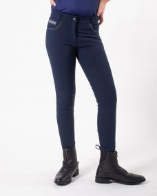 Breeches Nelah Junior leg grip Navy 176