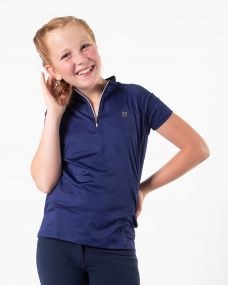 Sport shirt Noëlla Junior Navy 176