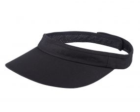 Sun visor for safety helmet Black