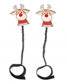 Crown piece accessory Chirstmas Rudolph