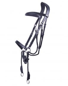 Bitless bridle Ceto Black Full